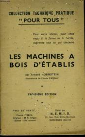 Les Machines A Bois D'Etablis - Couverture - Format classique