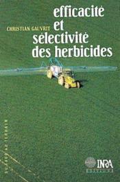 Efficacité et sélectivité des herbicides - Couverture - Format classique