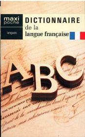 Dictionnaire de la langue française - Couverture - Format classique