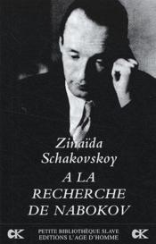 À la recherche de Nabokov - Couverture - Format classique