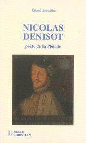 Nicolas Denisot, poète de la pléiade - Intérieur - Format classique