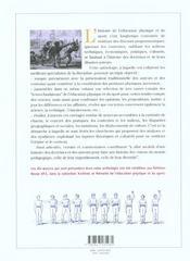 Anthologie commentée des textes historiques de l'éducation physique et du sport - 4ème de couverture - Format classique
