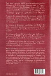 Le xviii siecle francais au quotidien - 4ème de couverture - Format classique