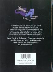Le Chapeau Rond Rouge - 4ème de couverture - Format classique
