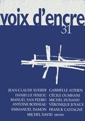 Revue Voix D'Encre N.31 - Intérieur - Format classique