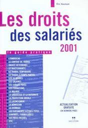 Droits des salaries 2001 - Intérieur - Format classique