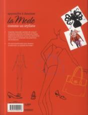 Apprendre à dessiner la mode comme un styliste - 4ème de couverture - Format classique