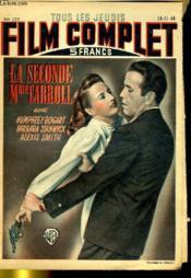 TOUS LES JEUDIS FILM COMPLET N° 127 - LA SECONDE Mme CARROLL - Couverture - Format classique