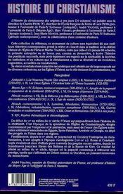 Histoire du christianisme t.4 ; évêques, moines et empereurs, 610-1054 - 4ème de couverture - Format classique
