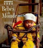 Les Bebes Du Monde. Agenda 2000 - Couverture - Format classique