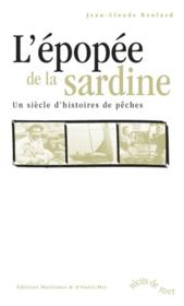 L'epopee de la sardine - Couverture - Format classique