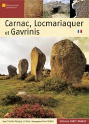 Carnac, Locmariaquer et Gavrinis - Couverture - Format classique
