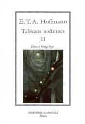Tableaux nocturnes t.2 ; edition reliee - Couverture - Format classique