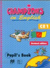 Champions in english ce1 (edition revisee) - Couverture - Format classique