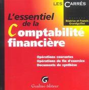 Essentiel De La Comptabilite Financiere (L') - Intérieur - Format classique