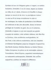 Christofle - 4ème de couverture - Format classique