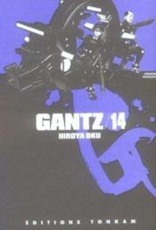 Gantz t.14 - Couverture - Format classique