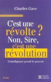 C est une revolte?non sire c est une revolution - Intérieur - Format classique