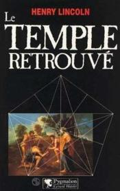 Le temple retrouvé - Couverture - Format classique