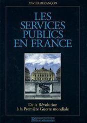 Sces publics france revolution a 1e guerre - Couverture - Format classique