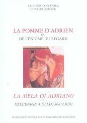 La Pomme D'Adrien Ou De L'Enigme Du Regard - Intérieur - Format classique