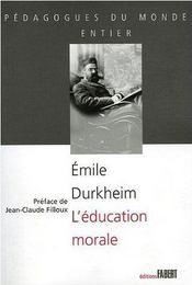 L'Education Morale Ne - Intérieur - Format classique