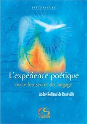 L'expérience poétique ou le feu secret du langage - Intérieur - Format classique