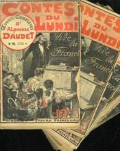 Lot De 14 Fascicules. Contes Du Lundi. Oeuvres Completes D'Alphonse Daudet. N° 93 Au N° 100. N° 94-95-96-97-99-100 En Double. - Couverture - Format classique
