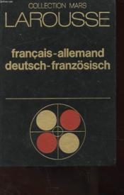 Dictionnaire - Francais-Allemand - Couverture - Format classique