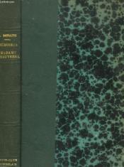 Memoires De Madame De Chauverel. Tome 1. - Couverture - Format classique