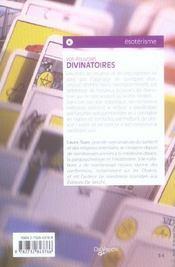 Pouvoirs Divinatoires (Vos) Poche - 4ème de couverture - Format classique