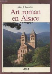 Art roman en alsace - Couverture - Format classique