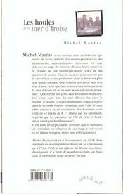 Les Houles De La Mer D'Iroise - 4ème de couverture - Format classique