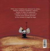 Le Cirque Rouge. - 4ème de couverture - Format classique