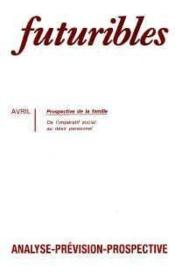 Futuribles N.153 Avril 1991 - Couverture - Format classique