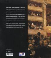 Sur Scene En 1900 - 4ème de couverture - Format classique