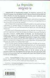 Thyroide Soignez-La - 4ème de couverture - Format classique