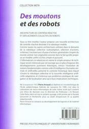 Moutons Et Des Robots - 4ème de couverture - Format classique