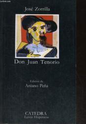 Zorilla don juan ; tenorio cated - Couverture - Format classique