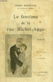 Le Fantome De La Rue Michel Ange. - Couverture - Format classique