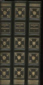 Memoires En 3 Tomes - Couverture - Format classique