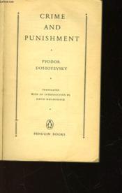 Crime And Punishment - Couverture - Format classique
