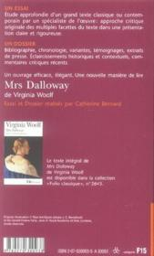 "Vente livre :  ""mrs dalloway"", de virginia woof  - Catherine Bernard"