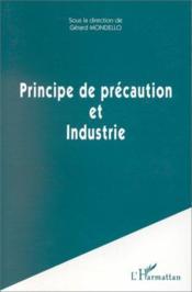 Principe de précaution et industrie - Couverture - Format classique
