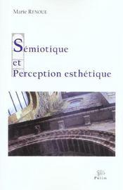Semiotique Et Perception Esthetique - Intérieur - Format classique