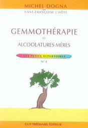 Gemmotherapie - Intérieur - Format classique