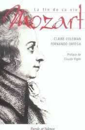 Mozart La Fin De Sa Vie - Intérieur - Format classique