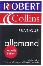 Le Robert & Collins Pratique. Allemand - Intérieur - Format classique