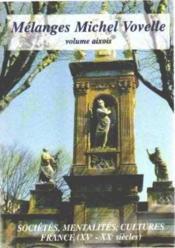 Melanges Michel Vovelle - Couverture - Format classique
