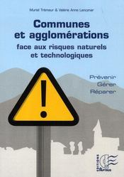 Communes et agglomérations face aux risques naturels et technologiques - Intérieur - Format classique